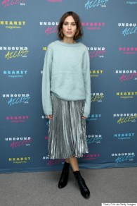 NEW YORK, NY - OCTOBER 27: Model Alexa Chung attends Hearst Magazines MAGFRONT 2015 at Hearst Tower on October 27, 2015 in New York City. (Photo by Cindy Ord/Getty Images for Hearst)