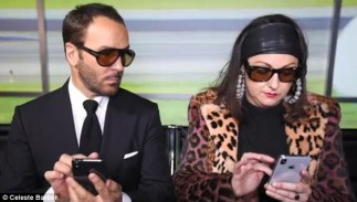 Tom Ford & Celeste Barber (1)