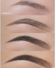 Eye brown make-up (2)