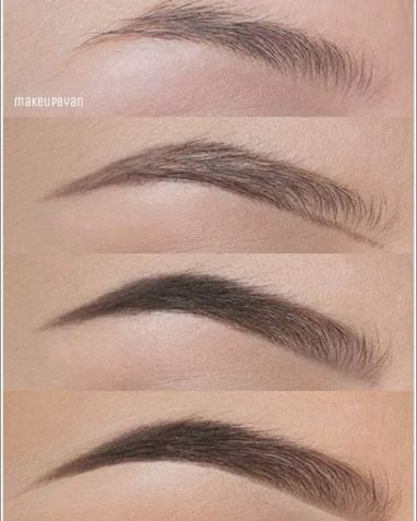 Eye brown make-up (2)