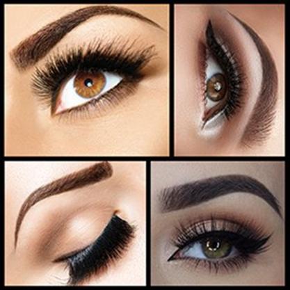 Eye brown make-up (3)